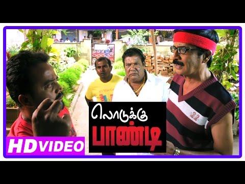 Lodukku Pandi Tamil Movie | Scenes | Kadhal Dhandapani And Manobala Waiting Outside Karunas House