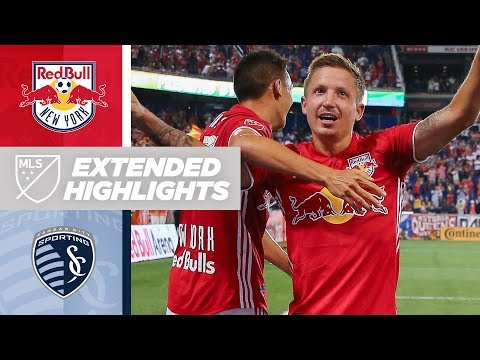 New York Red Bulls battle back from a second-half deficit
