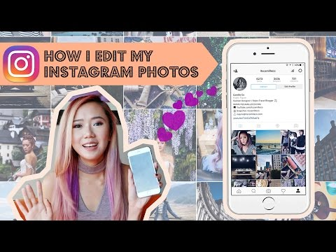 How I Edit Instagram Photos And Maintain Theme | Camille Co