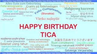 Tica   Languages Idiomas - Happy Birthday