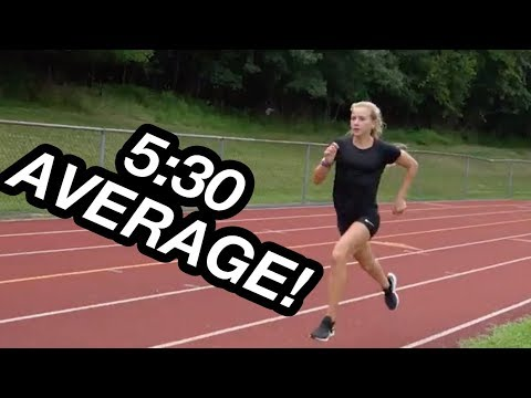 Katelyn Tuohy Mile Repeats | Workout Wednesday