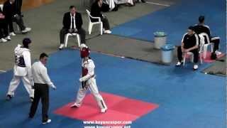 58kg  Emre Yurtseven   Nazim Tanaci 2 gun  (2012 Turkish Taekwondo Championships Under -21)