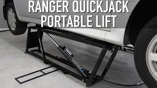 My New Ranger QuickJack Portable Lift