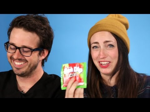 Thumbnail: High People Try '90s Snacks