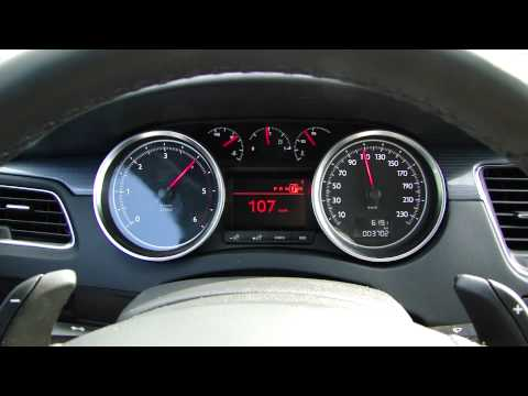 Peugeot 508 2.0 HDi 163hp Powershift 0-130 km/h