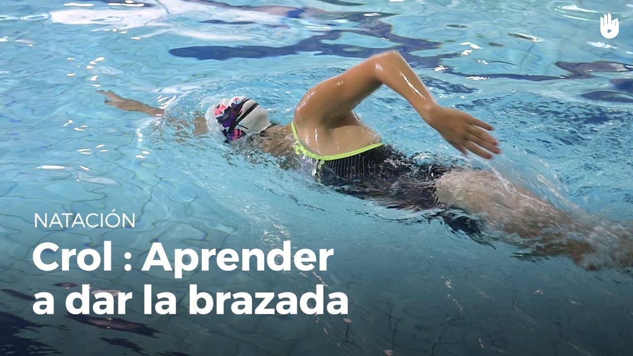 Aprende a dar la brazada crol youtube for Planos de piletas de natacion