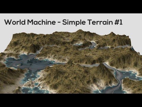 World Machine - Simple Terrain #1