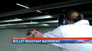 Could bullet resistant backpacks save your child's life? - NBC 15 News, WPMI