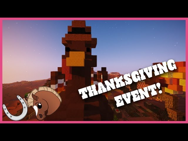 Thanksgiving Event in HorseCraft!