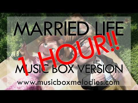 1 HOUR OF Married Life (Music box version) - Up soundtrack