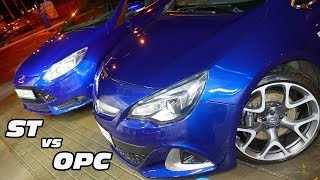 Opel Astra OPC vs Ford Focus ST vs Toyota 3S-GTE ГОНКА.