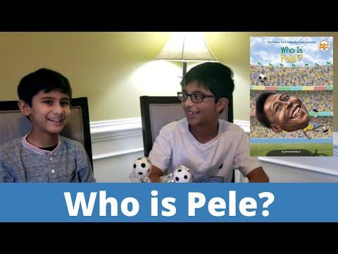 Who is Pele? An Inspirational book for all the kids from LittleKidBum
