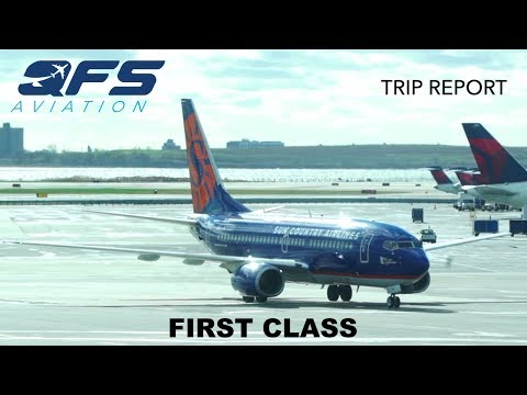 TRIP REPORT | Sun Country Airlines - 737 700 - New York (JFK) to Minneapolis (MSP) | First Class