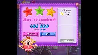 Candy Crush Saga [Dreamworld] Level 42 ★★★ 3 Stars