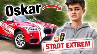 Fahrstunde Stadt Extrem mit Oskar 😱 | Fischer Academy