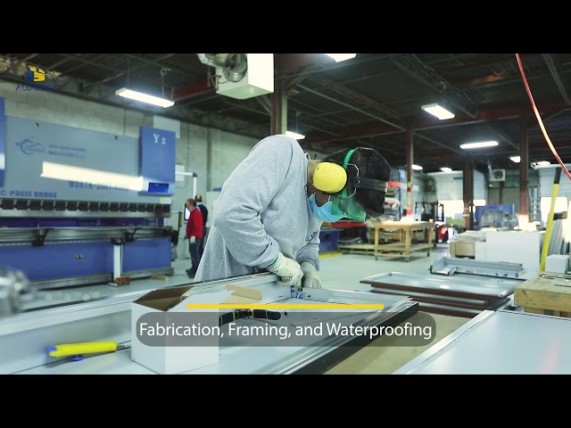 Alumtech is a one-stop shop for all your Aluminum Composite Panels needs from supply to installation