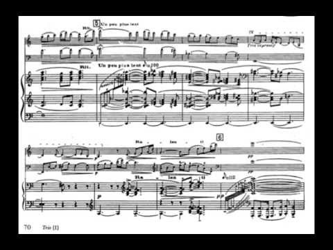 Maurice Ravel-Piano Trio in A minor + Sheets