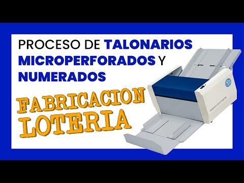 Microperforadora RPM 350 y Software de Numeracion
