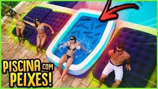 NÃO ESCOLHA PISCINA DE PEIXES!! ( TESTE DE CONFIANÇA ) [ REZENDE EVIL ] thumbnail