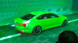 Skoda VisionC Concept 2014 Videos