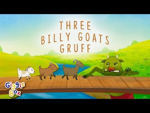 The Three Billy Goats Gruff | Fairy Tales | Gigglebox