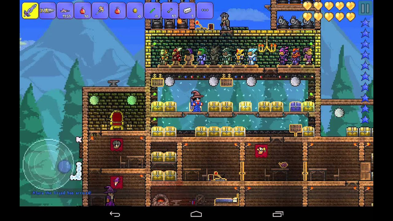 Terraria Android All Items Map