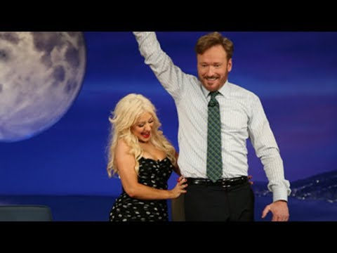 Christina Aguilera Interview Part 01 - Conan on TBS