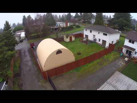 Alaska Structures SQX-Series Quonset Buildings