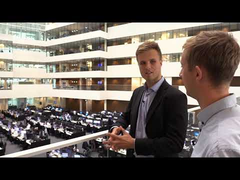 Working at the biggest trading floor in the Nordics