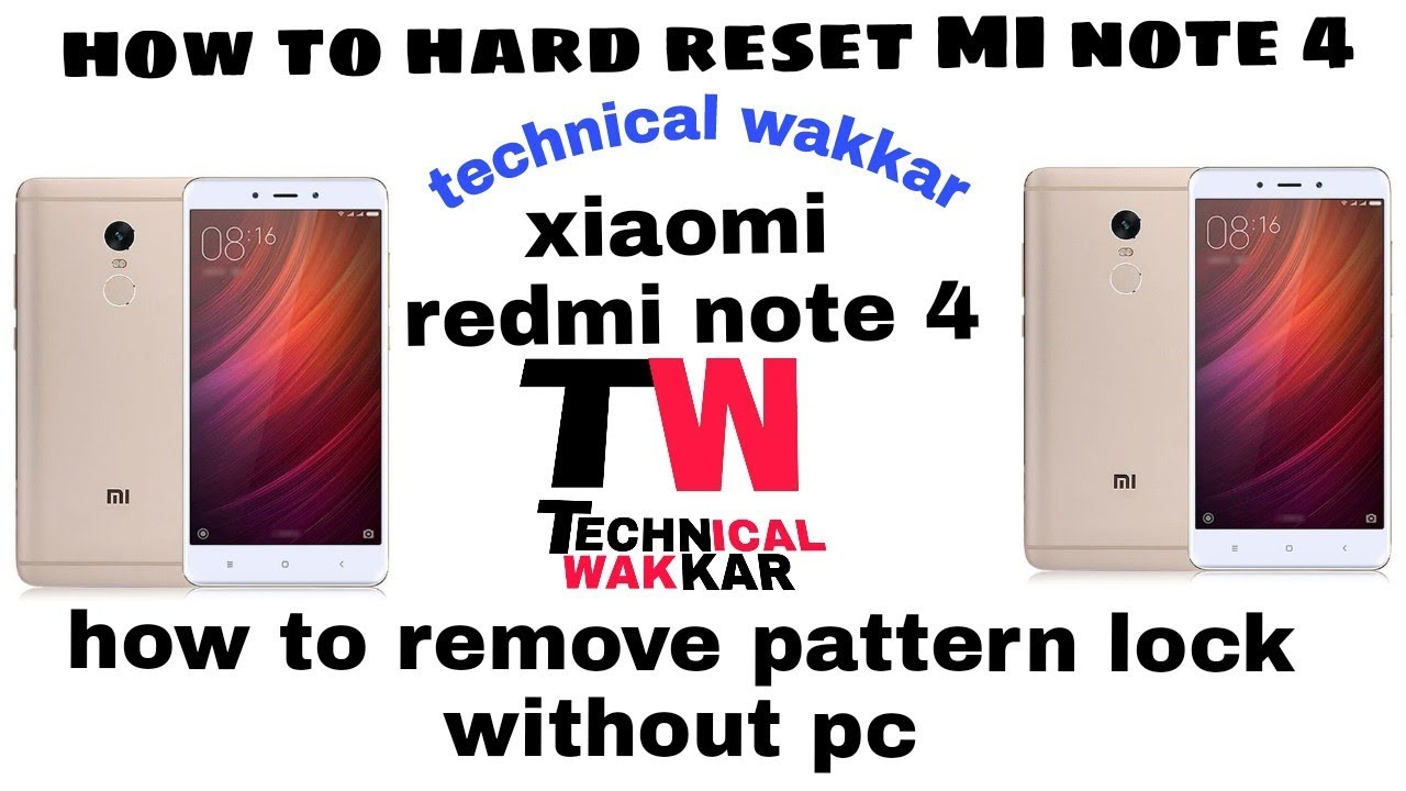 Mobile Info: Xiaomi Mi 4 Reset