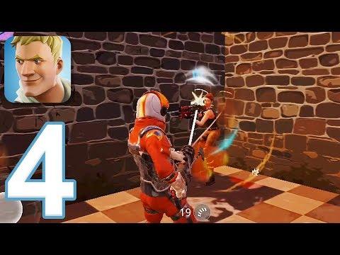 Fortnite - Gameplay Walkthrough Part 4 - Battle Pass (iOS)