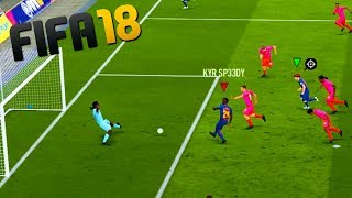 THREE IDIOTS TRY TO SCORE A GOAL IN FIFA 18!