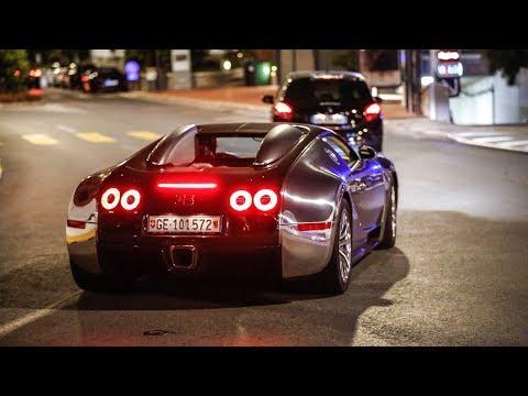 The EPIC Monaco Supercar Nightlife #4 (3x Ferrari F12 TDF, Veyron Pur Sang, iPE Aventador)