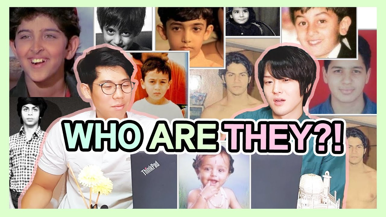 Can you Guess who They Are? | Guess the Childhood Picture of Indian Actors Challenge!