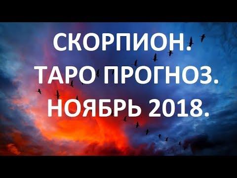 Скорпион. Ноябрь 2018. Общий Таро Прогноз.