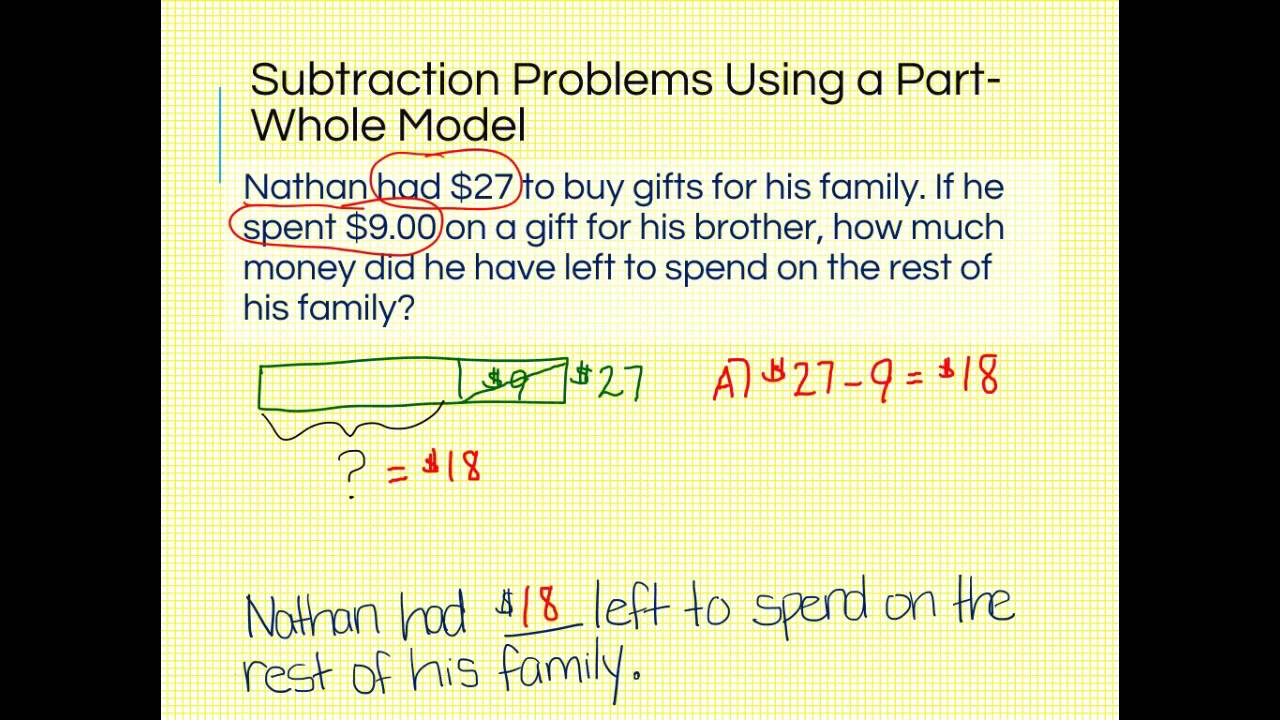 small resolution of 2nd Grade Word Problems (solutions