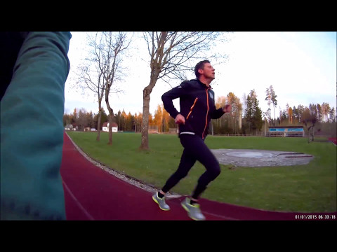 1500 m time trial Moscow Running Club Camp