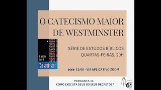 Estudo Bíblico - Tema: Catecismo Maior - Pergunta nº14