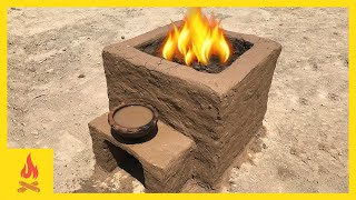 Primitive Technology: Simple Clay kiln & Pottery