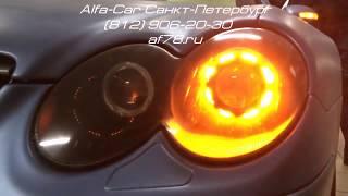 Mercedes SL230. Кастомизация оптики(Требование клиента: максимальное изменение внешнего вида головной оптики и перевод задних фонарей на свет..., 2016-04-13T14:52:25.000Z)
