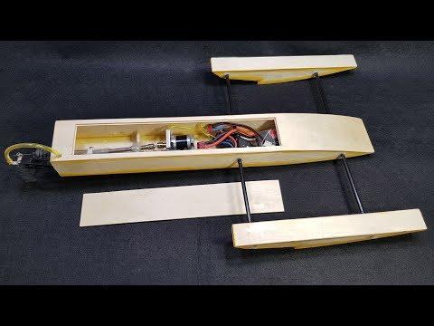 Chế Cano RC Rigger 70km/h với gỗ ép