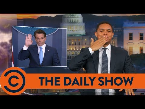 The Mooch Is Too Eccentric For Trump - The Daily Show | Comedy Central