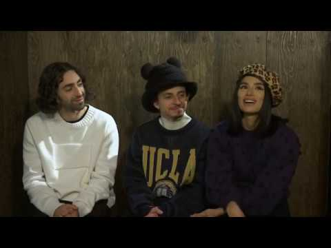 First On Screen Kiss: Mateo and Moises Arias & Diane Guerro