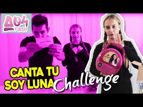 Canta Tu Soy Luna - IO vs ALVISE Challenge |Ambrina04 Flash|