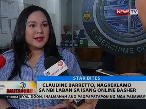 Claudine Barretto Files NBI Complaint Against her Baby's Basher