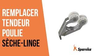 Comment réparer votre sèche-linge - Remplacer le tendeur poulie ?
