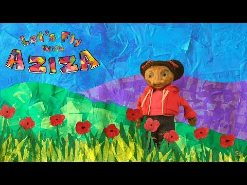 Let's Fly With Aziza! | Children's Theatre | Preschool Story & Learning