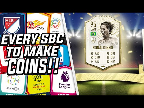 EVERY SBC THAT MAKES YOU COINS!! (GUARANTEED PROFIT) FIFA 20 ULTIMATE TEAM