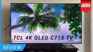 TCL 4K QLED C715 TV Review