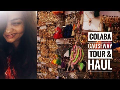 BUDGET SHOPPING | COLABA CAUSEWAY 2018 | TOUR & HAUL